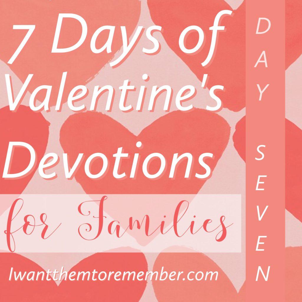 Seven Days Of Valentines Week 2017